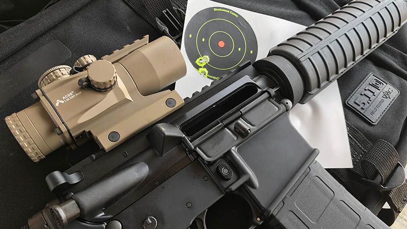 Primary Arms 3x Compact Scope on Anderson AR 15